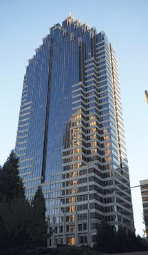 Promenade tower in Midtown