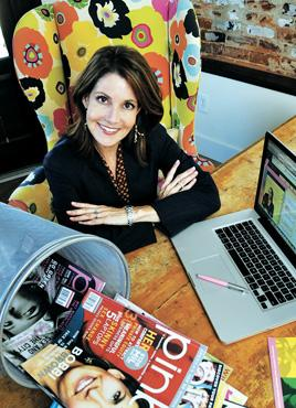 Leap of faith: Cynthia Good, editor and CEO of Atlanta-based PINK magazine, helped guide the publication to an online-only format a year ago.