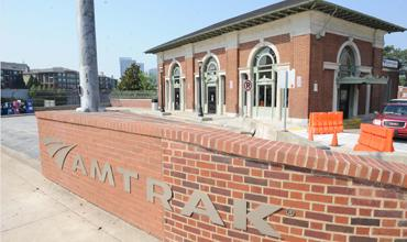Amtrak plans to move from its historic Peachtree Street site to a site at 17th Street and Northside.
