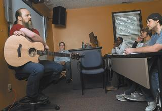 Resident musician: John Driskell Hopkins, bassist and songwriter for Zac Brown Band, is the first Artist in Residence at Kennesaw State University's Joel A. Katz Music and Entertainment Business Program. Hopkins recently lectured  and met with students, all of whom are interested in getting into the business side of the music and entertainment industries. Georgia's music business supported nearly 20,000 jobs in fiscal year 2012.