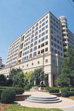 Forum building: The 212,000-square-foot West Buckhead property is its signature office building within Ronus Properties' portfolio. The building is more than 