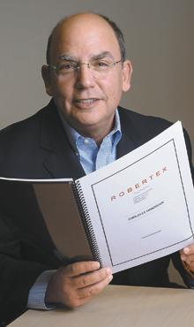 Handy reference: An employee handbook can help both the company and the employees, says Bob Rothman, president of Robertex Associates Inc. It has given his company guidance, as well as protected corporate and individual rights, and has allowed him to delegate to senior managers because he knows policies are already spelled out.