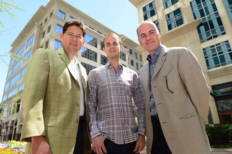 Tom Noonan, Adam Ghetti and Steve Abbott of Ionic Security, which just raised $25.5M.