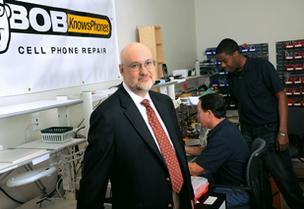 Bob Knows Phones: Fixing damaged phones has been a boom business for owner Joel Quinn, who plans to expand in Georgia in 2012 and eventually other regions.