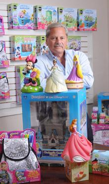 No kidding around: Peachtree Playthings Inc. CEO Mark Tasman said diversification has been instrumental in his company's growth. Peachtree Playthings, which makes licensed toys and other children's items, has grown by up to 12 percent from 2008 to 2011 by adding new lines and selling to a greater variety of retailers.