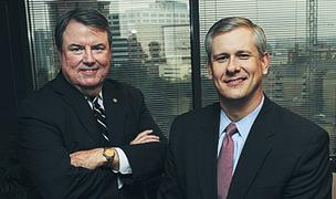 Steven Hatchell, left, and John Stephenson Jr.: Believe Atlanta is the best place for the attraction.