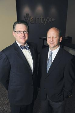 Greater visibility: Tom Coffey, left, and Jim Fitzgibbons are moving their firm.