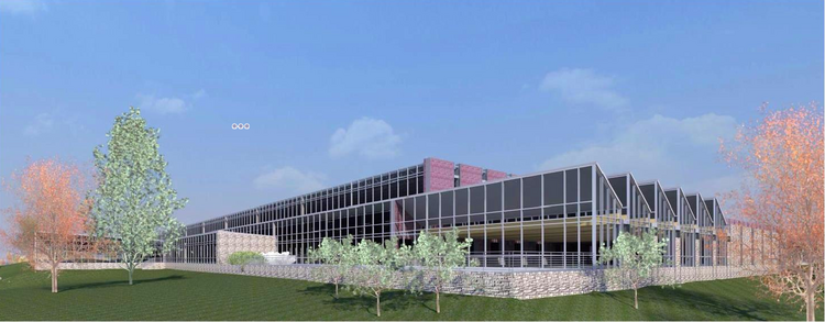 A rendering of the McMaster-Carr project in Douglasville