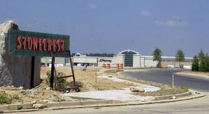 Mall at Stonecrest when it was under construction