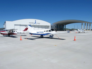 The Austin Executive Airport has opened a new corporate hangar to meet the demand for additional space.