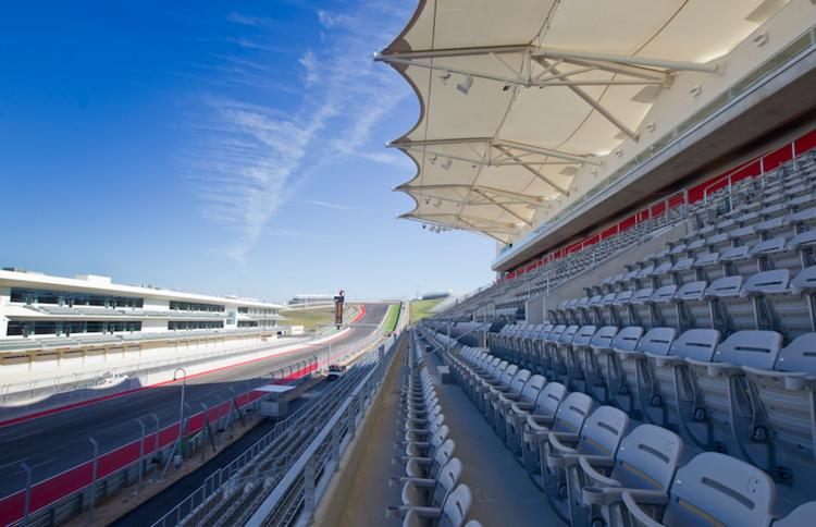 Click here for a slideshow of the track action, sweet suites and parties designed for billionaires.