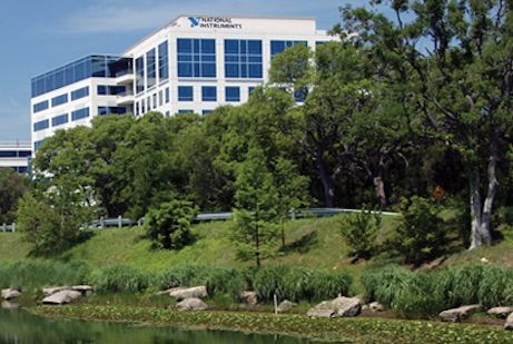 National Instruments' headquarters is in North Austin off Mopac Expressway.