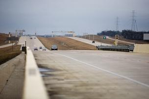 SH 130 is being touted as the fastest way to get between Austin and San Antonio. Speed limit: 85.