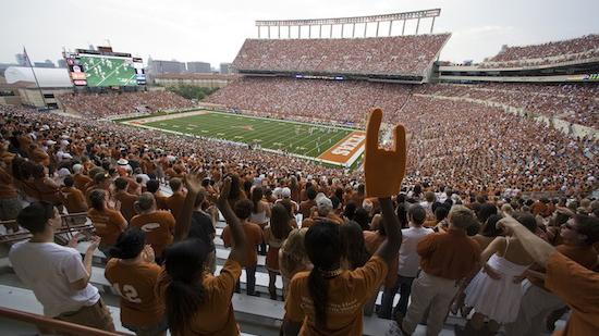 Potential collision course? The University of Texas is scheduled to host Oklahoma State University the same weekend the Formula 1 race returns to Austin next year.