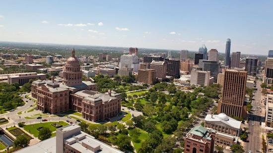 Austin is one of only five metropolitan areas in  all of North America to rank in the top 70 of the 300 fastest-growing  metropolitan economies worldwide, according to a Friday report.