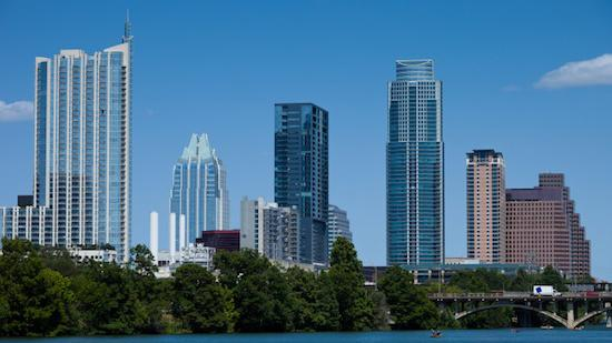 Austin took the top spot in the On Numbers Economic Index through its employment growth and its stable housing market.