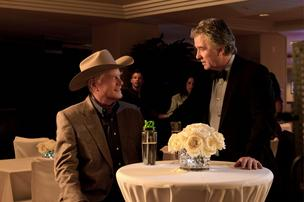 "The TV show ""Dallas"" (actors Larry Hagman, left, and Patrick Duffy pictured) spent $20 million in Texas, said Heather Page, director of the Texas Film Commission."