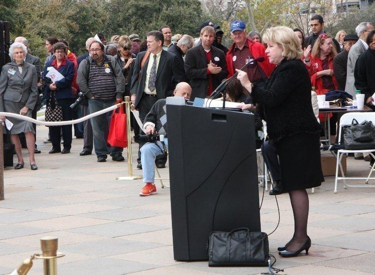 Sen. Jane Nelson, R-Flower Mound, is behind Senate Bill 426.