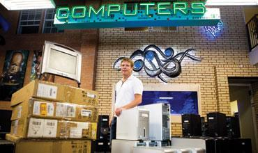 Rick Culleton has steered Discount Electronics through a relatively rapid expansion during the past few years.