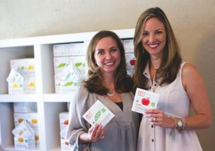 Lauren McCullough, left, and Caroline Freedman founded Freed Foods Inc.