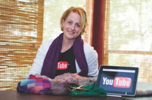 Austin knitter Staci Perry has seen her business grow thanks to YouTube
