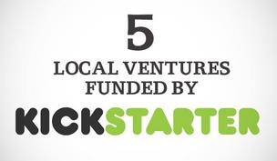 Click through the slideshow to see five local ventures that are seeking funding through the New York-based company.