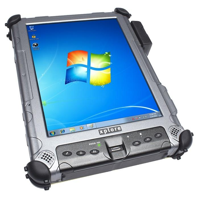 The U.S. military made a multimillion-dollar purchase order for 900 of Xplore Technologies Corp.'s rugged tablet computers in December 2012.