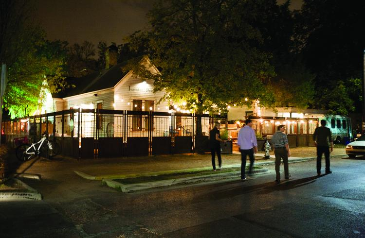 Lustre Pearl, at 97 Rainey St., opened in 2009. Take a virtual tour through downtown Austin's Rainey Street district here.