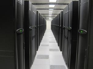 The Stampede supercomputer at the University of Texas became operational Jan. 7, 2013. DPR Construction in Austin handled construction of the 10,000-square-foot computer housing.