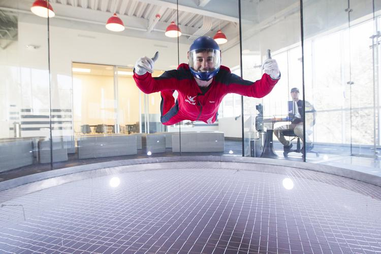 "Click through to see how Austinites are able to ""skydive"" indoors."