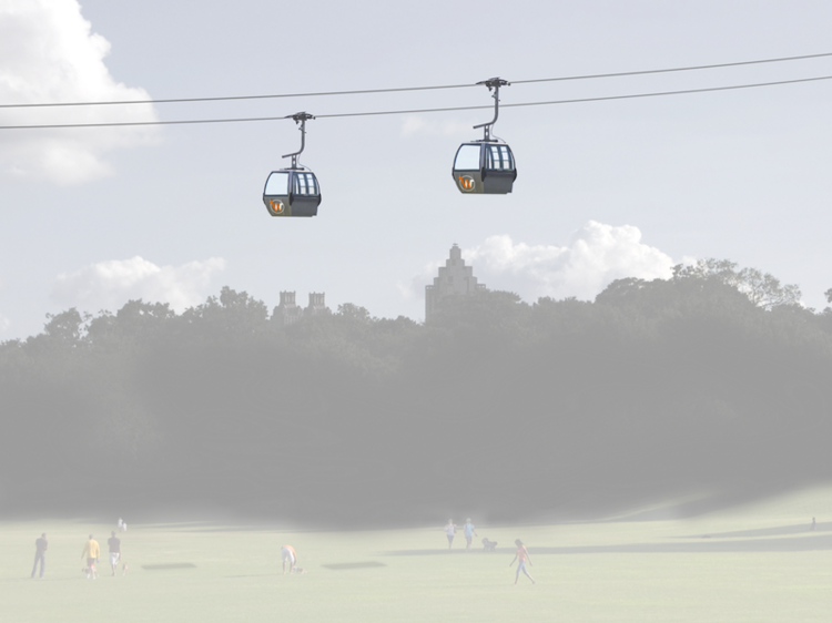 It's not hard to sell people the view on gondolas. It's going to be harder to sell them on the Wire as the backbone of an everyday transit system.