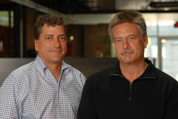 Mark McGarrah (left) and Bryan Jessee, co-founders of Austin-based advertising agency McGarrah Jessee.