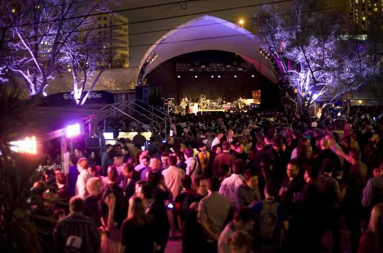 Stubb's on Red River Street is always a SXSW hotspot.