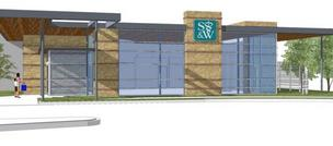 A rendering of Scott & White Healthcare's new clinic in Pflugerville.