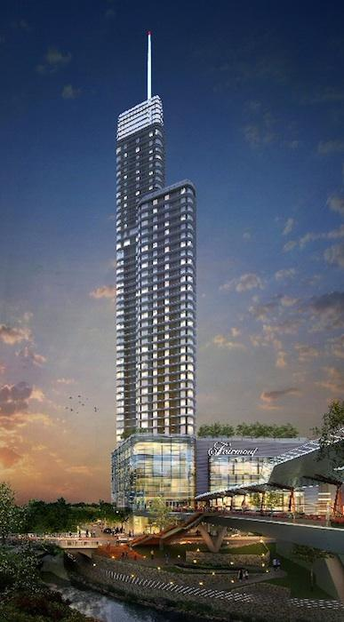 The Fairmont Austin, located at Cesar Chavez and Red River streets, is slated to open in 2015.