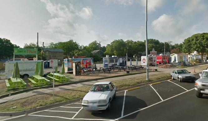 Food trucks will be forced to leave this South Congress Avenue lot by May 25.