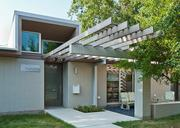 The renovation of an Asian-influenced 1960s mid-century modern home on Shoal Creek Boulevard creates 2,375 square feet of function space for a family of four. David Webber is the architect.