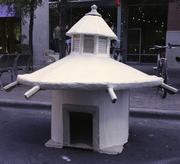 A group from Austin Community College won the award for the Most Unusual Doghouse at last year's Barkitecture.