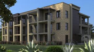 The Denizen townhomes and condos in South Austin will feature contemporary lines with more traditional touches that blend in with the surrounding Galindo neighborhood.