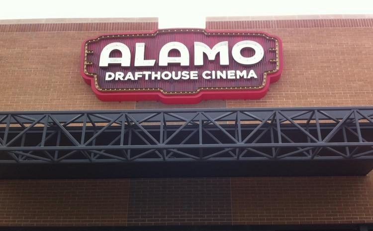 Alamo Drafthouse Austin topped a list of the 10 most searched terms in Austin in 2012.