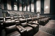 Some of the theaters at the Galaxy Moviehouse & Eatery feature plush recliners.