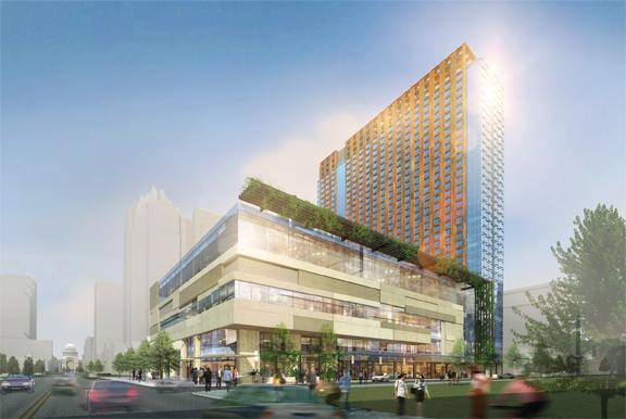 JW Marriott developer White Lodging Services Corp. has filed suit against the city of Austin after a dispute over an economic incentive agreement requiring the developer to pay a prevailing wage. The JW Marriott is one of 97 ways downtown Austin is changing.