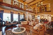 The massive living room space in the house which was originally listed for $4.5 million.
