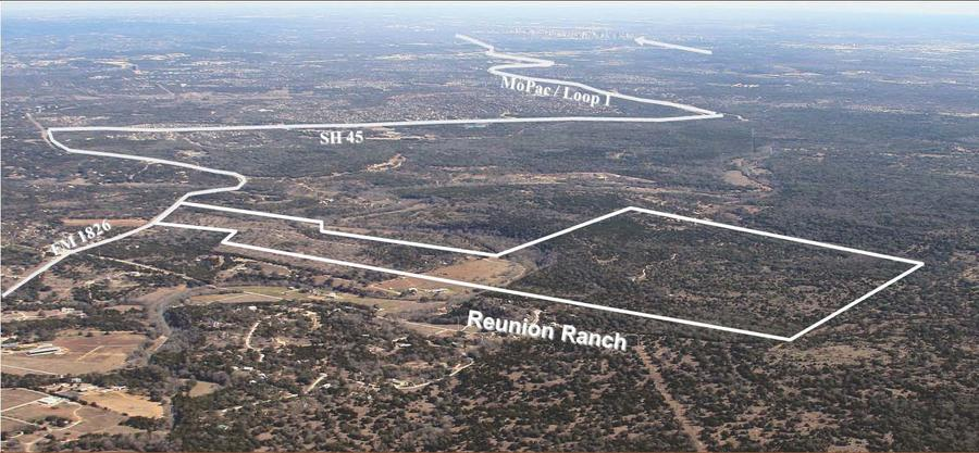 National Homebuilder Taylor Morrison Purchased 472 Acres Of High Profile Reunion Ranch In Dripping Springs