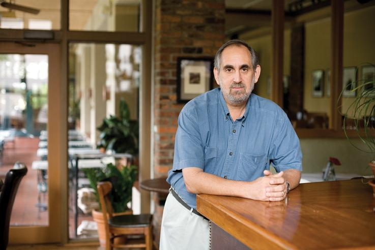 Jeff Weinberger, an operations partner at downtown Austin's Shoreline Grill.