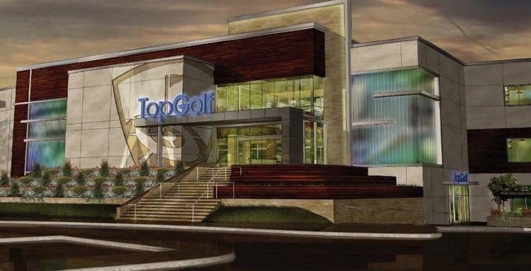 TopGolf is set to break ground on its $15 million, 71,000-square-foot complex in the next two weeks.