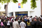 The second Microsoft store in Texas is unveiled at The Domain.