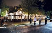 """Rainey Street's """"Lustre Pearl"""" has been making a name for itself lately, recently making Travel + Leisure magazine's America's Best Outdoor Bars list. Its large outdoor patio is the place to be if you want to whirl hula-hoops, eat food trailer tacos and sip on a tallboy."""