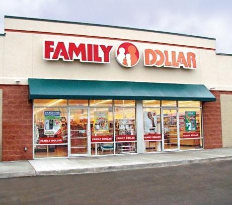 Family Dollar Stores.