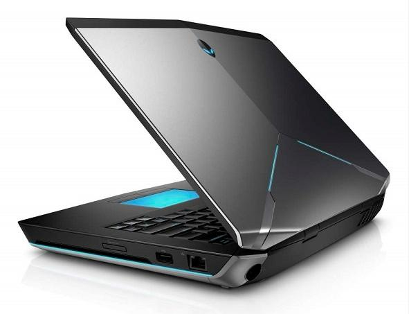 Dell's new Alienware laptops have an intentionally rugged look, designers said.